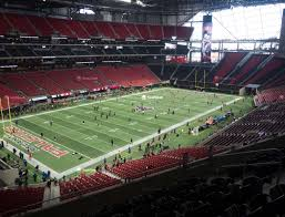 Falcons Game Seating Chart Mercedes Benz Stadium Section 218 Seat Views Seatgeek