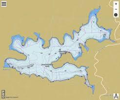 Union Reservoir Depth Chart Union Valley Reservoir Fishing Map