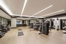 Home Gym Lighting Ideas Gym Led Lighting The Pacific Condominium Complex Home