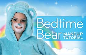 bedtime bear makeup tutorial