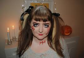 scary doll makeup scary doll makeup party photos