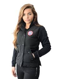 Classic Canada Goose Freestyle Vest Gilet. Black G43n5316 sale online