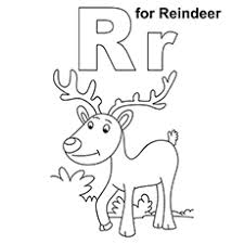 Letter R Coloring Page Pages For Toddlers Chronicles Network