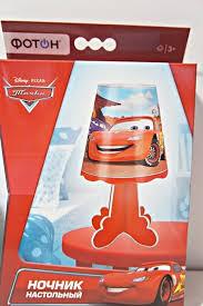 "<b>Ночник настольный ФОТОН</b>,<b>Disney/Pixar</b> ""Тачки"" DND-12 арт ..."