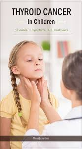 Image result for Thyroid cancer in children