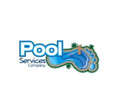swimming pool logo design. Pool-services-company-logo Swimming Pool Logo Design G