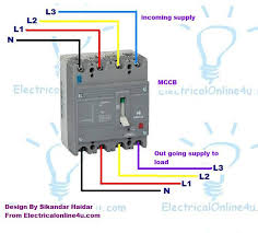 3 pole 4 pole mccb wiring diagrams and installation Circuit Breaker Wiring Diagram 4 pole mccb wiring diagram circuit breaker box wiring diagram