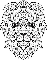 Small Picture Sugar Skull Advanced Coloring 8 Sugar skull images Sugar skulls