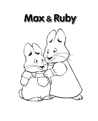 Free Printable Max And Ruby Coloring Pages For Kids Movies And Tv