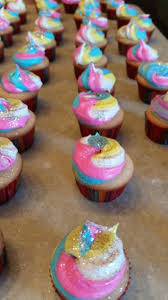Unicorn Poop Mini Cupcakes My Own Unexpected Journey