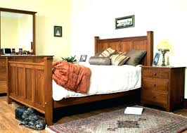 Mission Style Queen Bed Frame Mission Style Queen Bed Frame ...