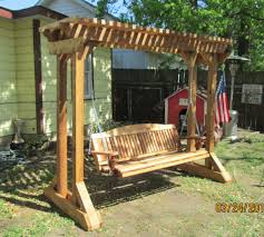 photo 5 of 10 arbor frame would be good for sky chairs or hammock outdoor swing frames