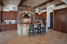 image of perfect tuscan style kitchen