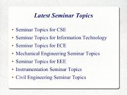ece paper presentation paper presentation topics for information  ece paper presentation paper presentation topics for information technology sikana