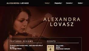 Artist Website Templates Mesmerizing Solo Artist Website Templates Music Wix