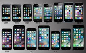 evolution of iphone 10 years of iphones a timeline showing phones evolution east bay