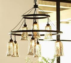 mercury glass lighting fixtures. brantley antique mercury glass chandelier lighting fixtures