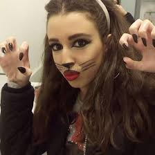 hunting for blood cat makeup