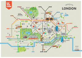 download map of sightseeing in london  major tourist attractions maps
