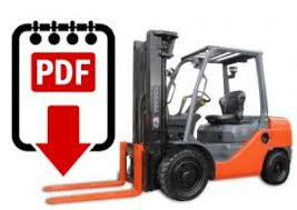 Toyota forklift service manual 8FGU15 series | Download PDFs instantly