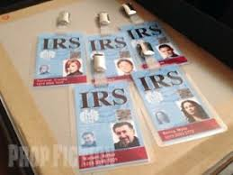 Ebay Passes 13 Id Irs Card - Cosplay Set Pass Clip-on Agent Security Warehouse Prop