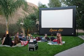 Backyard Movie Party Rentals  Outdoor Furniture Design And IdeasMovie Backyard