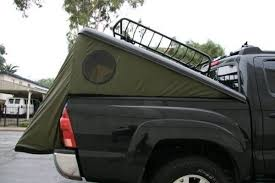 Tonneau Tent | Pickup Truck Camping | Truck tent, Toyota tacoma ...