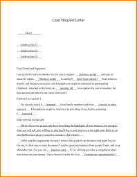Personal Loan Request Letter Format Best For Valid Sample Of Fresh