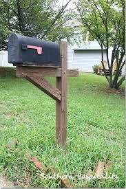 Mailbox Post Ideas Before Mailbox Unique Mailbox Post Ideas