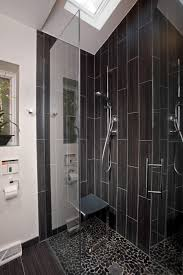 glass shower bathroom small glass subway