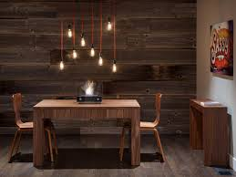 cheap modern pendant lighting. Rustic Dining With Modern Pendant Lights Exposed Edison Light Cheap Lighting For