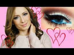 romantic valentines day makeup tutorial Макияж на День Валентина