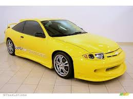 2004 Rally Yellow Chevrolet Cavalier Coupe #36622897 Photo #12 ...