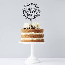 Elegant 21st Birthday Cake Topper Baking Accs Cake Decorating