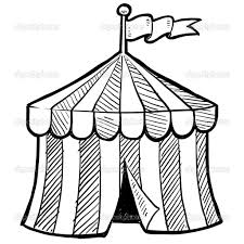 circus tent coloring pages printable carnival