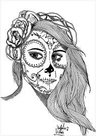 Makeup Coloring Pages For Adults