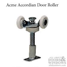 accordion door hardware 2 roller 7 8 nylon wheel acme 2611 acme accordion door roller nylon