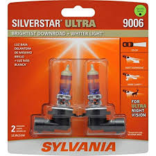 2018 F150 Light Bulb Chart Sylvania 9006 Silverstar Ultra High Performance Halogen Headlight Bulb High Beam Low Beam And Fog Replacement Bulb Brightest Downroad With