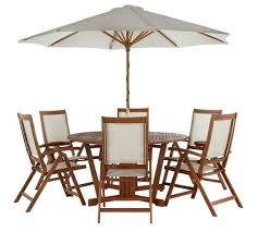 Buy Madison Wooden 6 Seater Patio Furniture Set At Argoscouk Argos Outdoor Furniture Sets