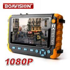 1080P <b>4 IN 1</b> TVI AHD CVI Analog CCTV Camera Tester 5 Inch TFT ...
