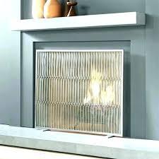 modern glass fireplace screen contemporary doors this tips sc
