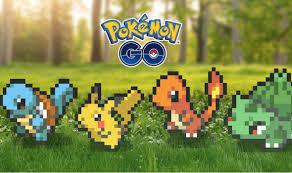 pokemon go 8 bit pixel graphics
