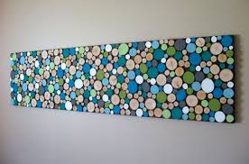view in gallery wood slice wall art diy on wall picture artwork with 50 beautiful diy wall art ideas for your home