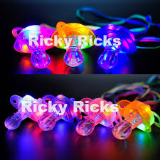 Light Up Lanyard Details About Light Up Pacifier Led Rave Party Glow Glowing Whistle Flashing Lanyard Blinking