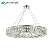 led ring chandelier home light decoration crystal pendant lamp led ring chandelier led 3 ring chandelier