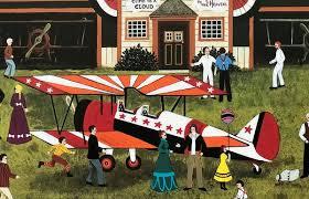 Franklin Fields First Annual Air Fair Jane Wooster Scott Lithograph – Art  Deals
