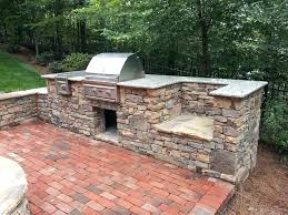 how to build an outdoor stone fireplace outdoor stone grill natural building stone outdoor kitchen grill