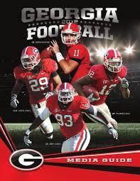 2012 Georgia Bulldogs Football Media Guide By Georgia