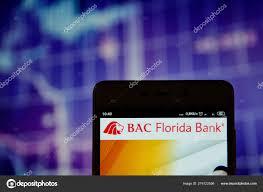 Bac Stock Chart Bac Florida Bank Logo On The Smartphone Stock Editorial