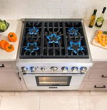 best 6 burner gas cooktop s range with downdraft kitchenaid 36 inch